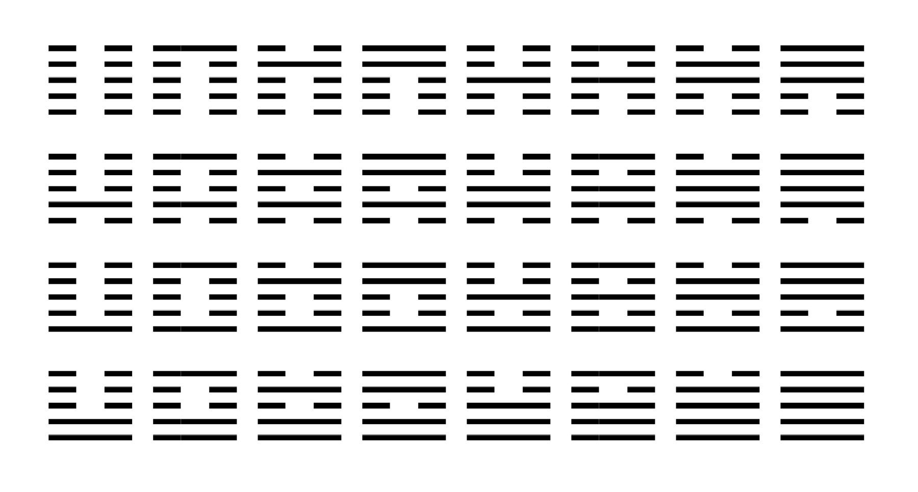 Pentagram Square-1d-6x3