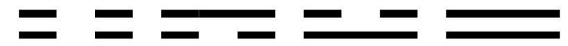 I Ching Square-1d-4 Bigrams